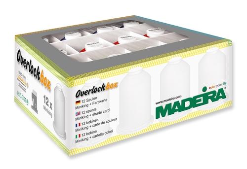 Madeira Aeroflock No.100 Bauschgarn 1000 m  Overlock Cover alle Farben