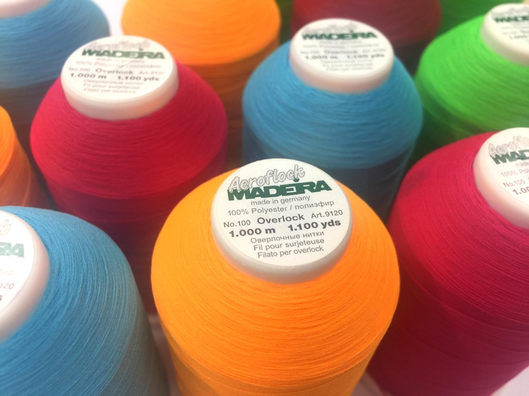 NEW: Aeroflock Overlock Thread in many fashionable colors!