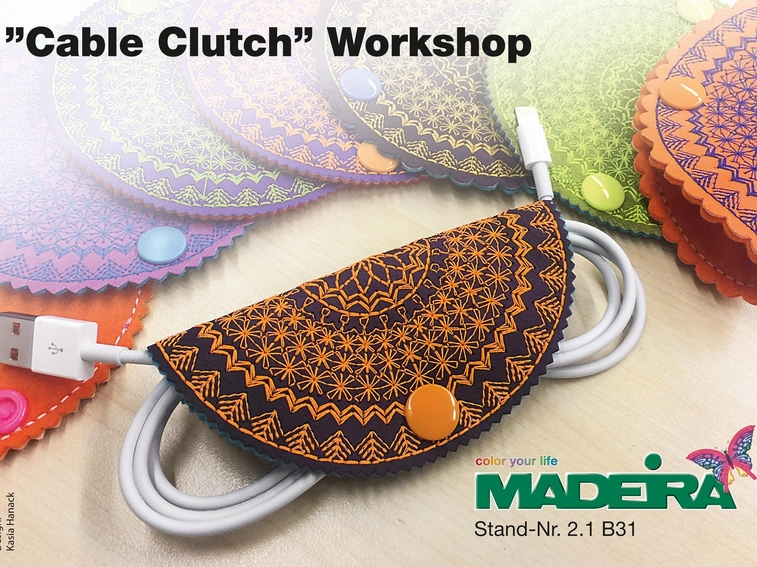 """Cable Clutch Freebie"""